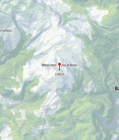 Karte / Rittner-Horn-Haus (Rif. Corno Renon)
