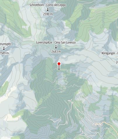 Map / Klausner Hütte (Rif. Chiusa)