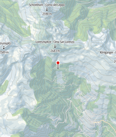 Karte / Klausner Hütte (Rif. Chiusa)