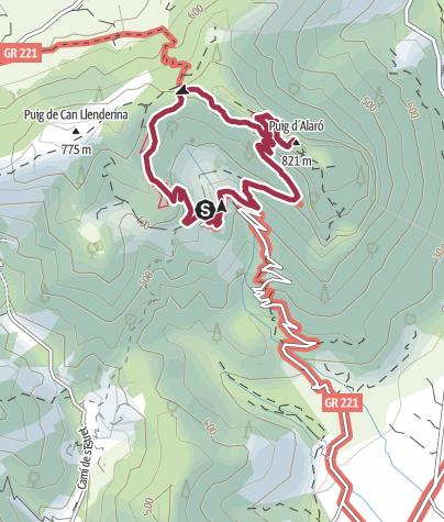Mapa / Castell d'Alaró