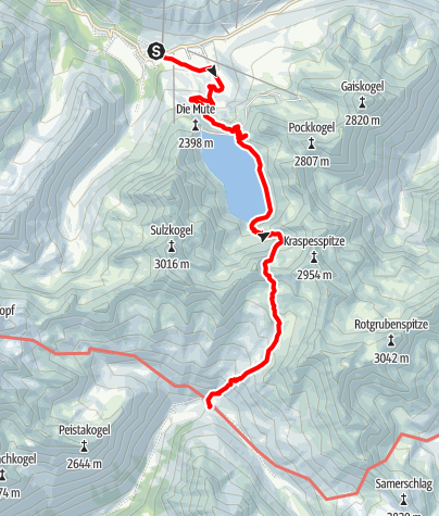 Map / Ötztal Trek Stage 02