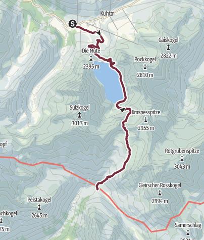 Map / Ötztal Trek Stage 02