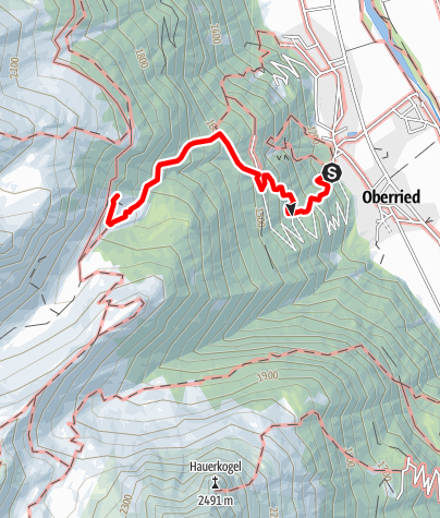 Map / Stabelealm - Längenfeld