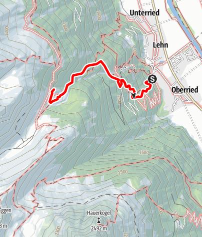 Karte / Stabelealm - Längenfeld