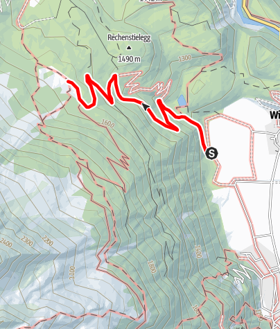 Map / Wurzbergalm