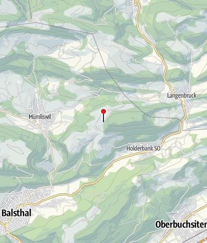 Karte / Beretenchopf (1104 m ü. M.)