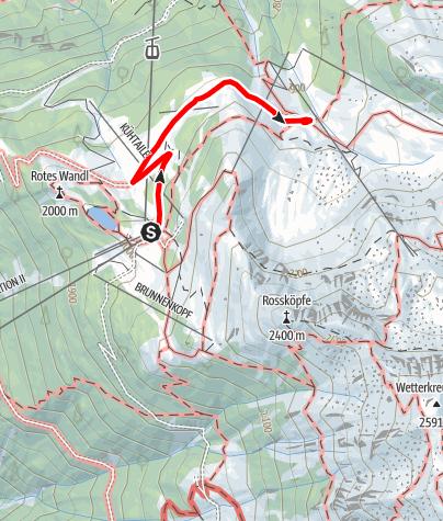 Map / Balbach Alm