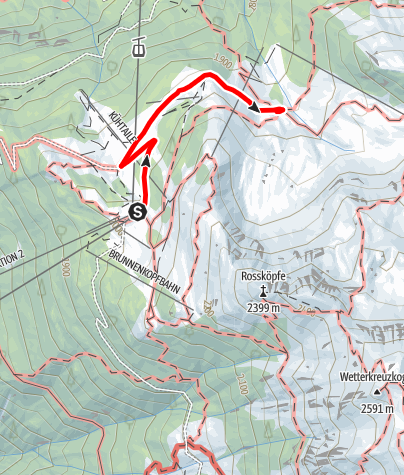 Karte / Balbach Alm