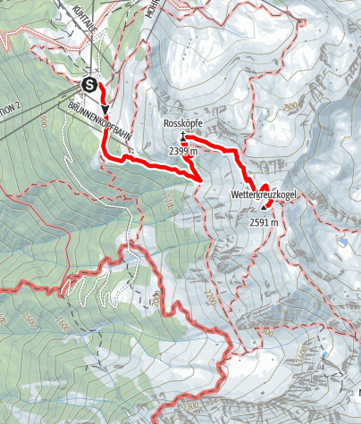 Map / Wetterkreuz