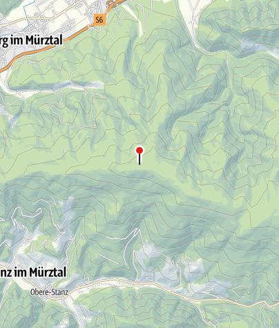 Karte / Leopold-Wittmaier-Hütte