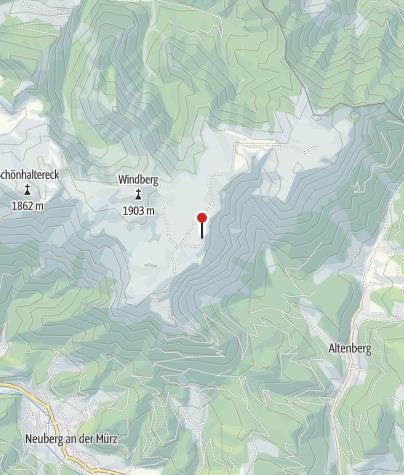 Karte / Schneealpenhaus