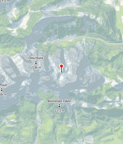 Map / Fritz-Pflaum-Hütte