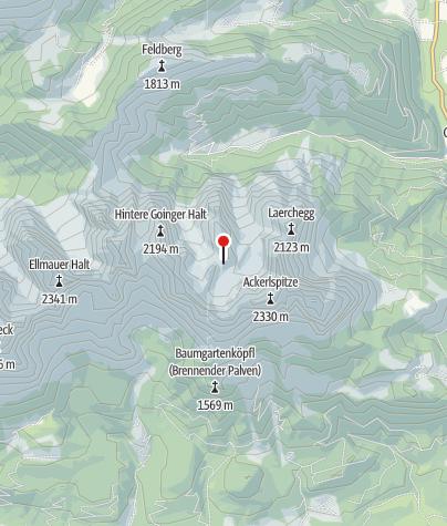 Karte / Fritz-Pflaum-Hütte