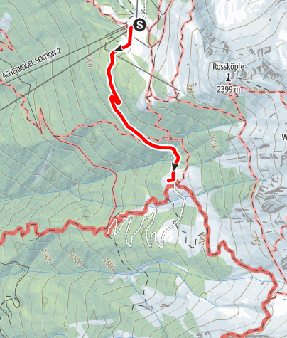 Map / Acherberg Alm