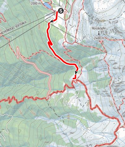 Karte / Acherberg Alm Hochoetz