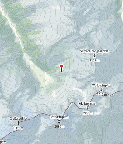 Karte / Kasseler Hütte