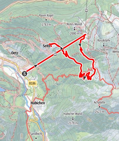 Karte / Berggasthof Schönblick