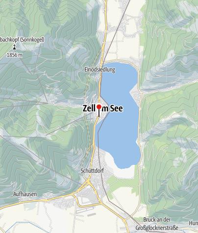 Karte / Touristeninformation Zell am See