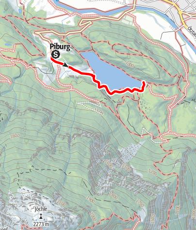 Karte / Seehäusl & Badeanlage Piburg
