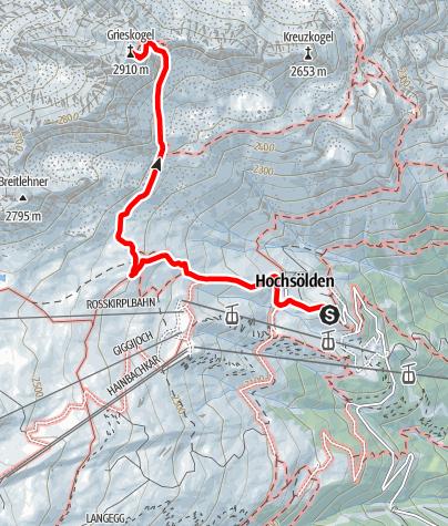 Karte / Grieskogl