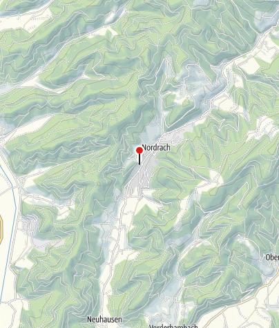 Karte / Maile-Gießler-Mühle in Nordrach