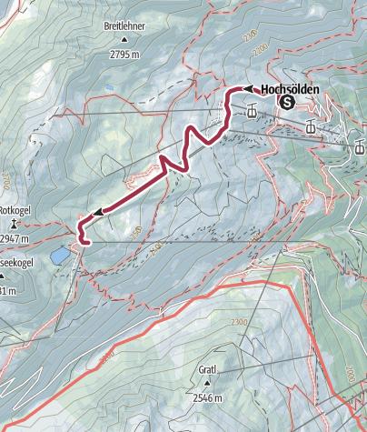 Map / Rotkoglhütte