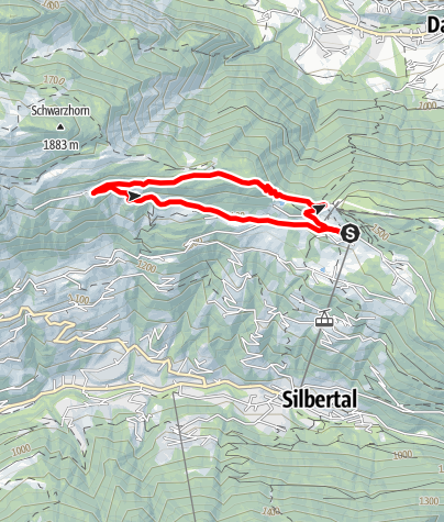 Karte / Kristberg - Ganzaleita