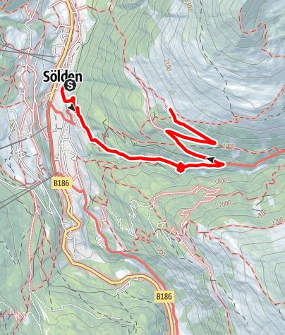Karte / Kleble Alm