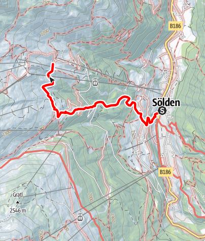 Karte / Hochsölden