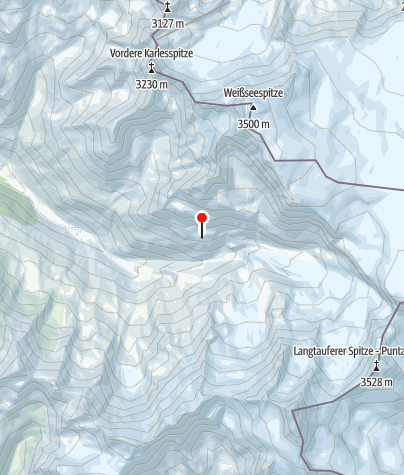 Karte / Weißkugelhütte (Rif. Pio XI)