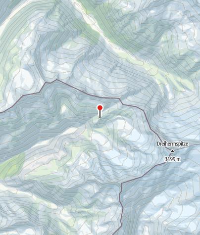 Karte / Birnlückenhütte (Rif. Brigata Tridentina)