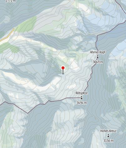 Karte / Lenkjöchlhütte (Rif. Giogo Lungo)