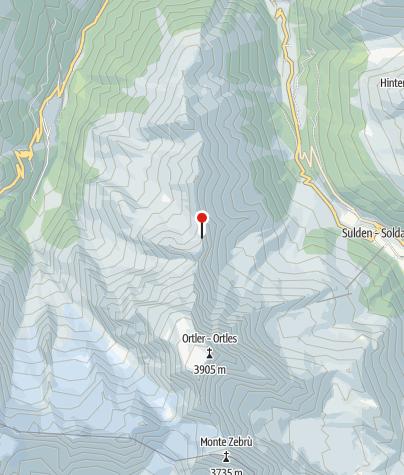 Karte / Julius Payer Hütte (Rif. Julius Payer)