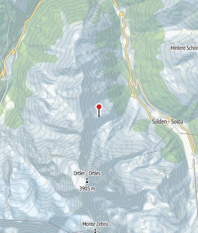 Map / Tabarettahütte (Rif. Tabaretta)