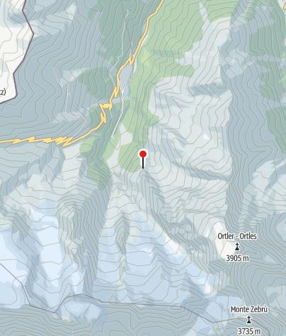 Karte / Berglhütte (Rif. Borletti)