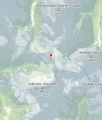 Karte / Drei Zinnen Hütte (Rif. A. Locatelli)