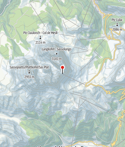 Karte / Toni-Demetz-Hütte