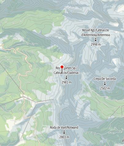 Karte / Santnerpasshütte (Rif. Santner)