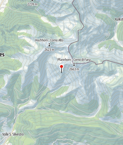 Karte / Bonnerhütte