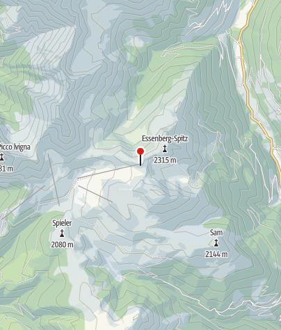 Karte / Kesselberghütte