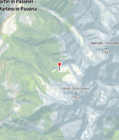 Karte / Hintereggalm