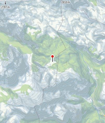 Karte / Fodara Vedla Hütte