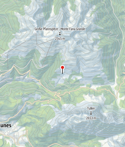 Karte / Schatzerhütte