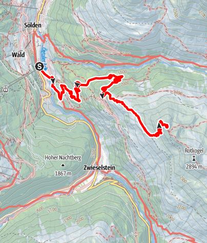 Map / Brunnekogelhaus