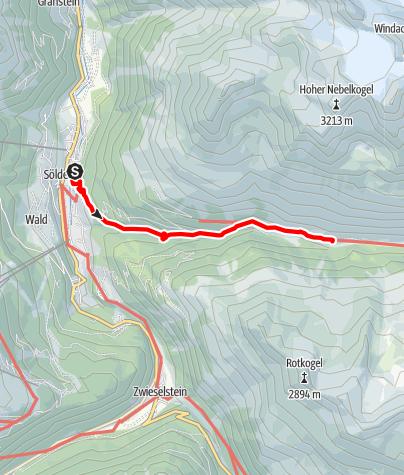 Karte / Fiegl's Hütte