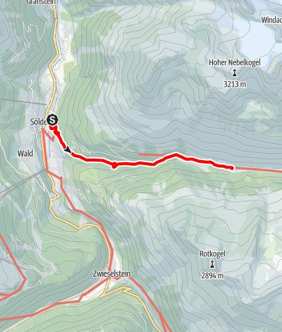 Map / Fiegl's Hütte