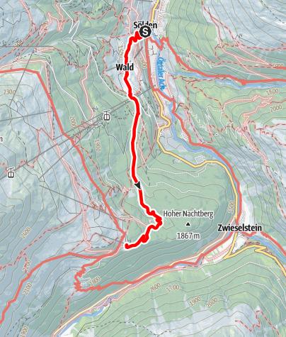 Karte / Gasthof Sonneck