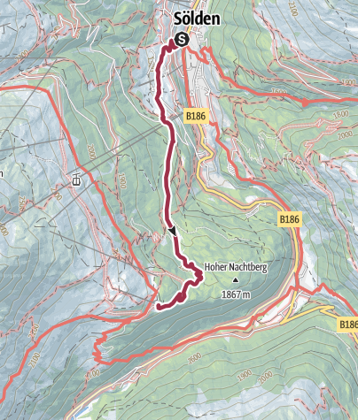 Map / Gasthof Sonneck