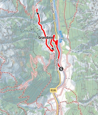 Karte / Jausenstation Hochwald