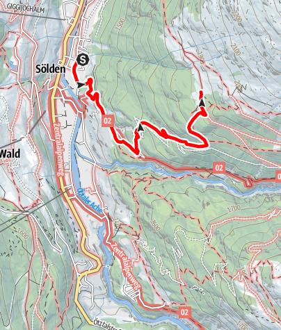 Karte / Stallwiesalm